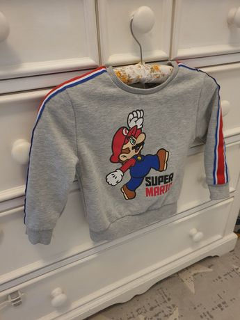 Bluza Super Mario!  4-5 lat