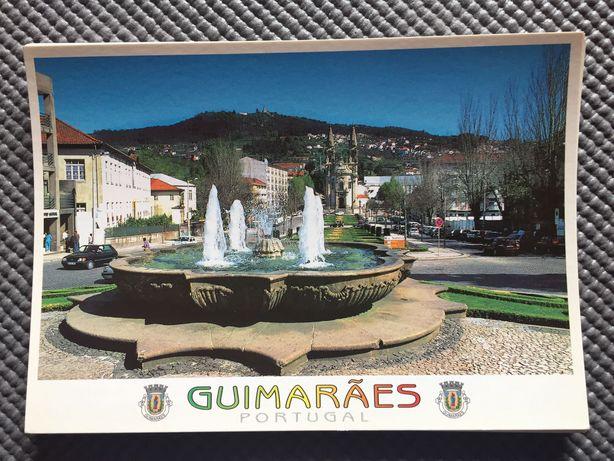 Coleção de Vários Postais Guimarães/Porto/Braga