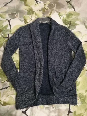 Sweter Orsay S granatowy melanż
