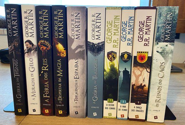 Coleção completa de livros - Game Of Thrones