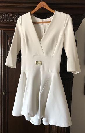 JUST UNIQUE biała sukienka roz M/L