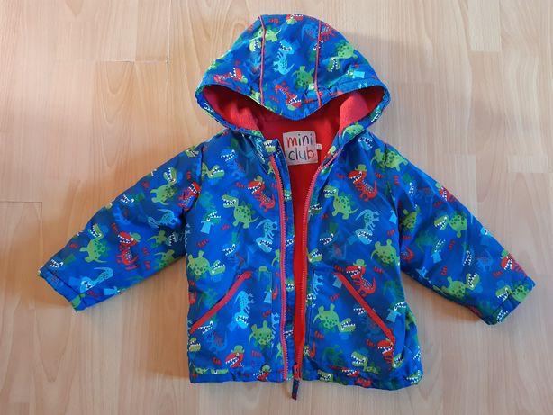 Демисезонная курточка на флисе