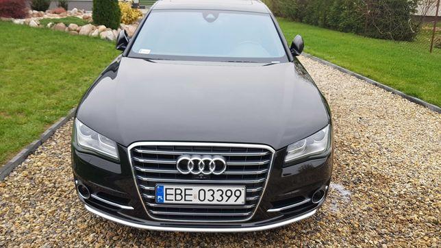 Audi a8 d4, stan idealny,kamery 360, wnetyle, masaże, webasto, dociągi