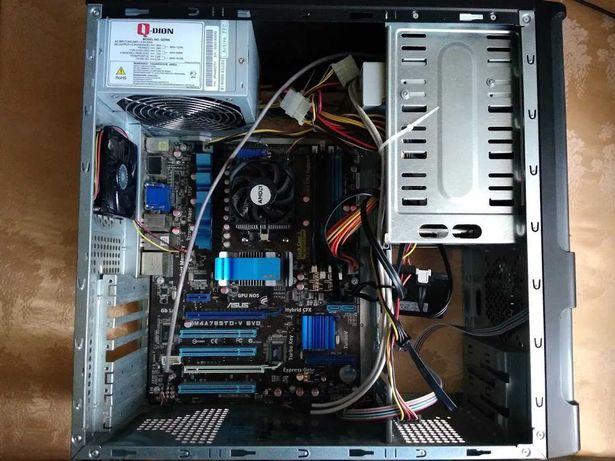 Компьютор AMD Phenom II X4 B55 CPU 3.2GHz, 8RAM, Radeon HD 4200