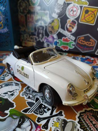 Porsche 356B 1961 1/18 Police edition Burago