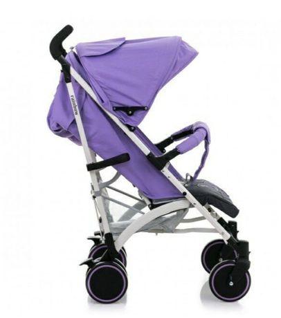 Коляска-трость BabyHit Rainbow D200 Violet Grey, фиолетовый с