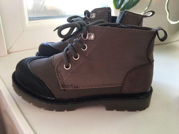 Сапоги сапожки чоботи Zara 15 см 24 размер 25 размер