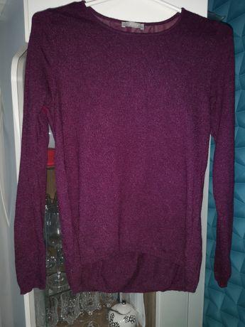 Sweter z haftem orsay