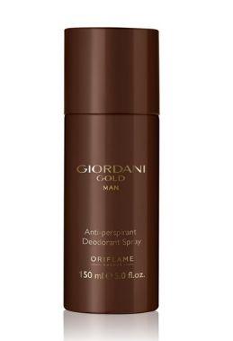 Antyperspiracyjny dezodorant w sprayu Giordani Gold Man Oriflame