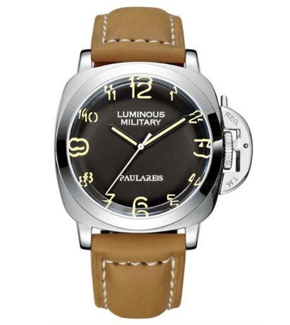 Zegarek męski PAULAREIS - AUTOMAT (PANERAI LUMINOR), jakość! Wysyłka!