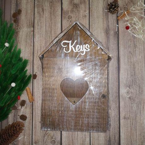 Подарок, декор, ключница, подсвечник, игрушки, рамки дерево