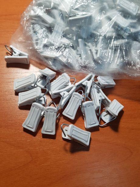 зажим купить (прищепки для штор) в пакете 100 штук