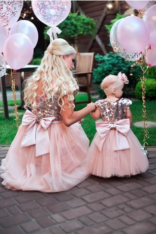 Платья мама дочка .Фемели Лук
