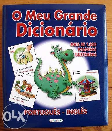 O meu grande dicionário de inglês