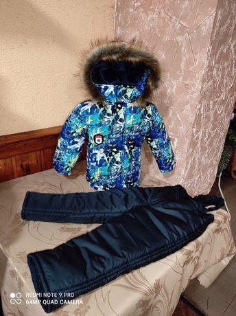 Детский комбинозончик на мальчика 1-5 год