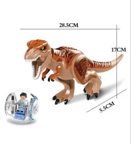 JURASSIC WORLD lego Dinozaur Dinozaury zestaw T-Rex Figurka Kula