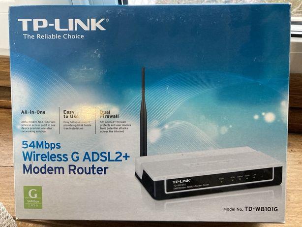 Роутер WI-FI TP-link ADSL