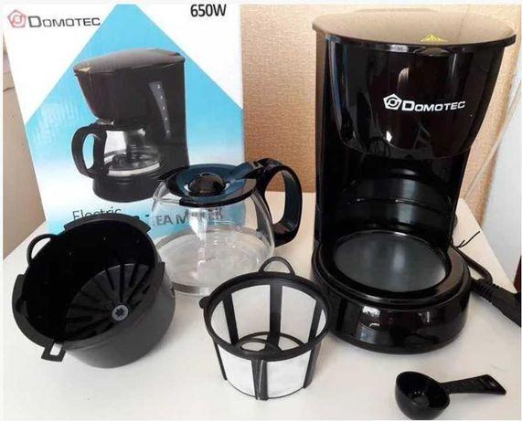 Недорогая домашняя капельная кофеварка Domotec MS-0707 купить