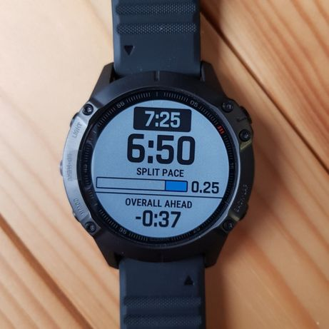 Смарт часы Garmin Fenix 6 PRO Black with Black Band
