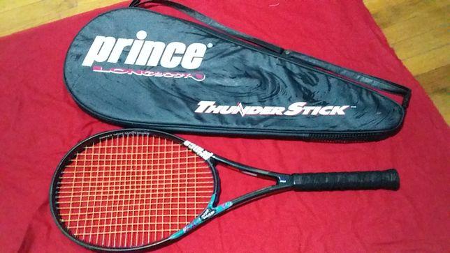 Ракетка теннисная для большого тенниса с чехлом-фирмы Prince-оригинал