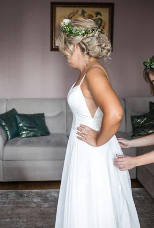 Suknia ślubna Justin Alexander Sincerity 44118 Rustykalny Glamour