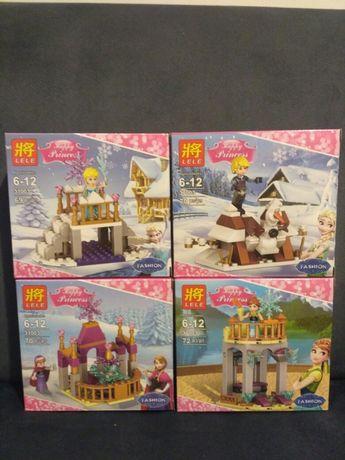 Kraina lodu ELSA Happy Princess 281 pcs 4 pudełka - Super zestaw-New!!
