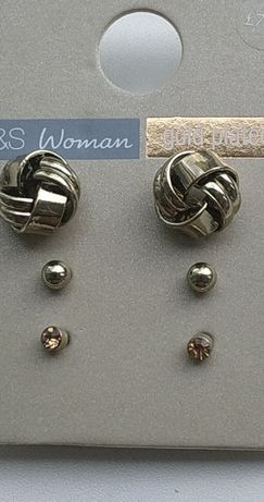 Продам сережки (гвоздики) M&S Мarks&Spencer