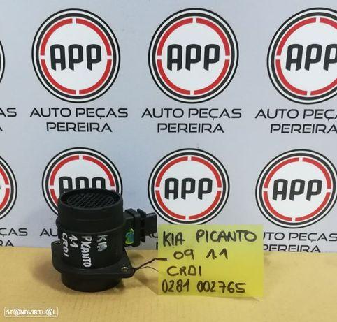 Medidor de massa de ar KIa Picanto 1.1 CRDI de 2009, ref 0281 002 765