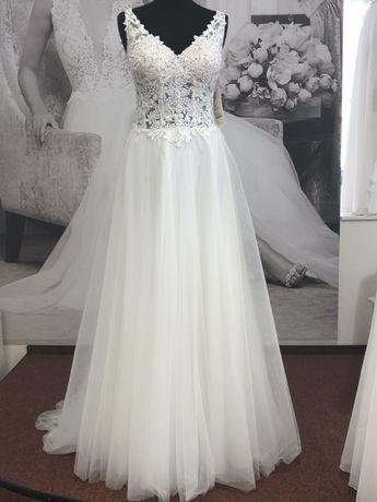 Suknia ślubna XS Agnes Limited Edition koronka
