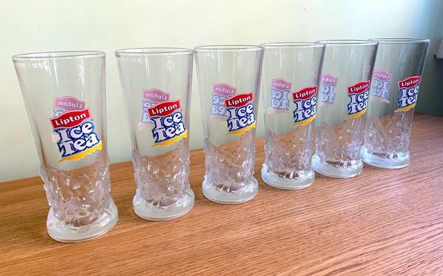 6 x szklanka Lipton Ice Tea oryginalne unikatowe zamiana za 1 kg coffe