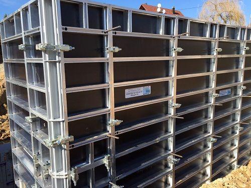 szalunki ścienne aluminiowe prod. EU bdb jakość szalunki zestaw 59m2