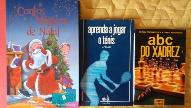 Livros para reutilizar: Contos mágicos de Natal, jogos e outros