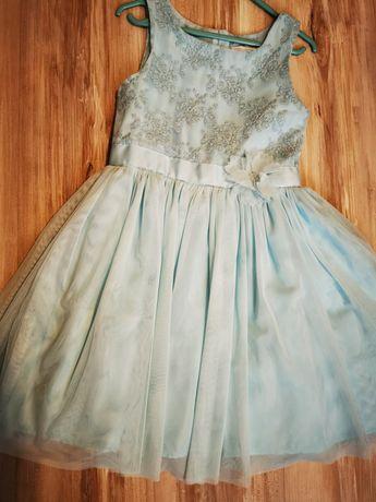 Sukienka tiulowa bez rękawów 128 SMYK