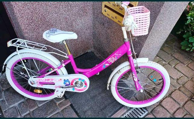 rower ryżowy dla dziewczynki koła 20