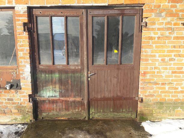 Drzwi drewniane do Garażu,Domu,Wiaty