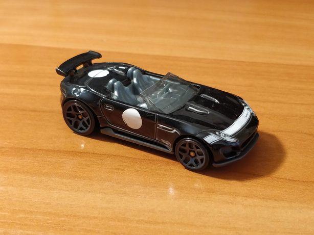 Моделька Hot Wheels Jaguar F-type Project 7