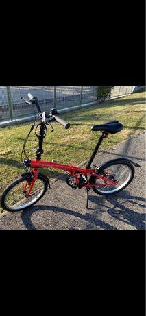 Bicicleta dobrável / desdobrável / btwin tilt 120
