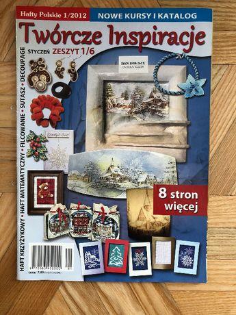 Twórcze Inspiracje - Hafty Polskie 1/2012