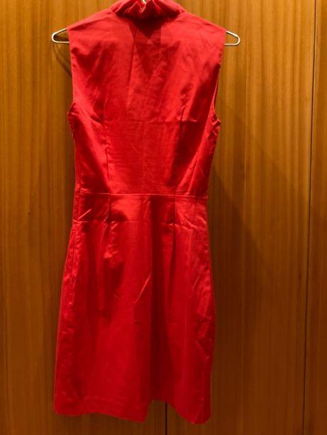 Vestido TED BAKER vermelho - MUITO BARATO - portes GRÁTIS