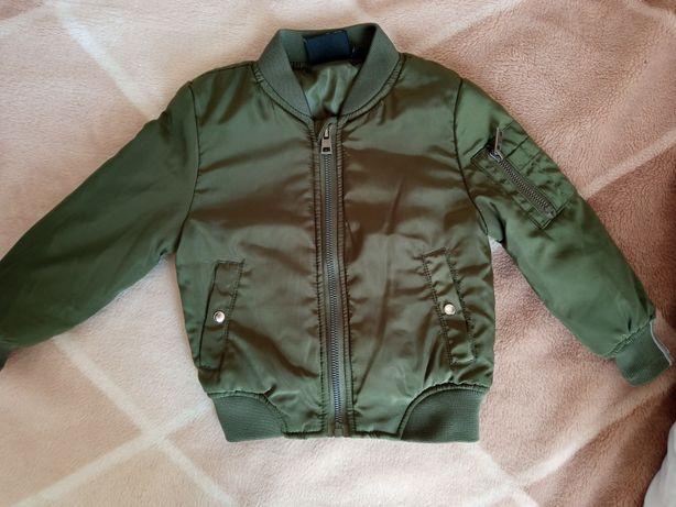 Bomberka, kurtka jesienna rozmiar 86