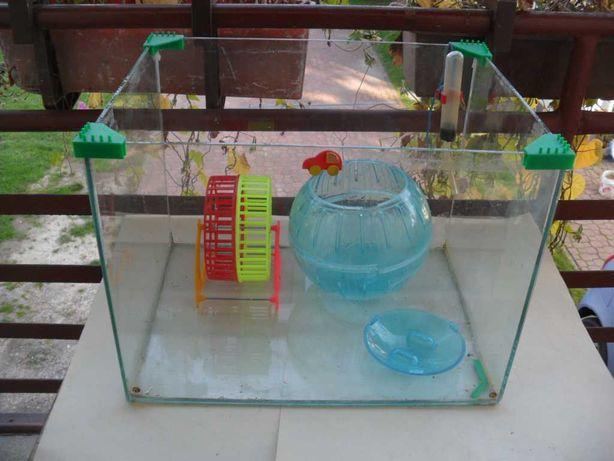 Szklane Akwarium Terrarium dla zwierzaka