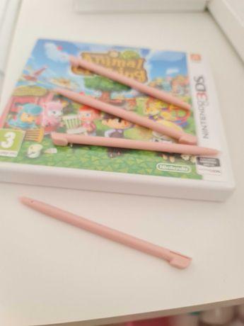 Caneta Rosa Nintendo ds, 2ds, 3ds