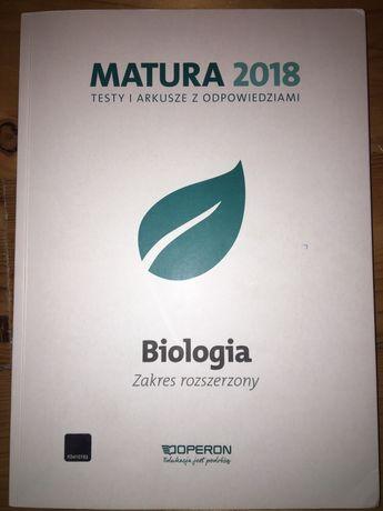 Testy i arkusze z odpowiedziami BIOLOGIA zakres rozszerzony