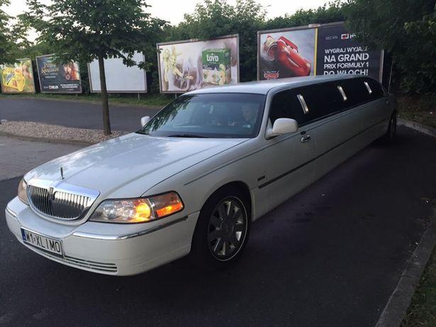 Auto do ślubu/limuzyna