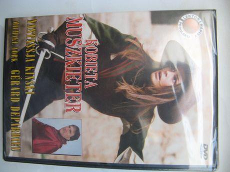 Kobieta muszkieter, DVD/folia, wyst. Gerard Depardieu Nastassja Kinski
