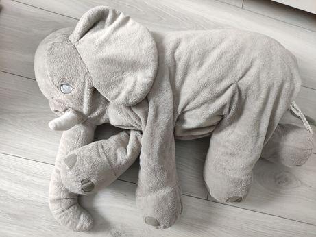 Pluszowy słoń do karmienia 60x40