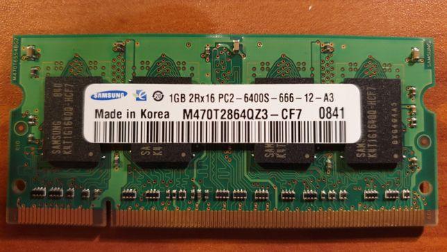 Memória Samsung M470T2864QZ3 1GB, Portatil