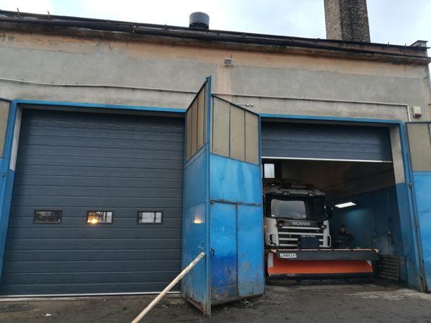 brama garażowa segmentowa OD RĘKI 3500mm x 3000mm 3699zł PRODUCENT