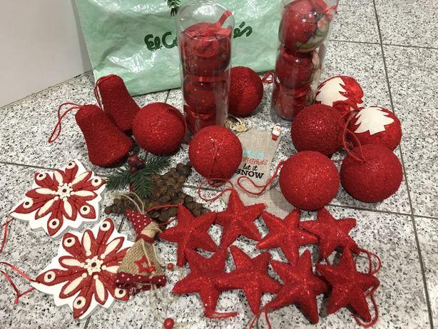 Pack vermelho árvore de NATAL