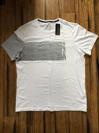 T-shirt oryginalna koszulka Guess XL nowa, z metką, biała lekka